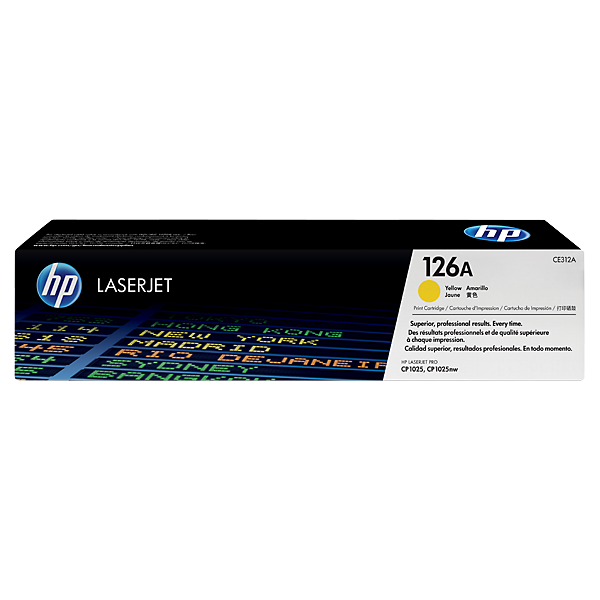 TONER HP LJ CE312A 126A CP1025NW YELLOW (1, K)