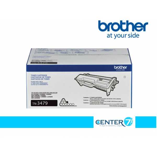 TONER BROTHER TN-3479 PARA HL-L5100DN / DCPL5650DN / MFCL5900DW / MFCL6700DW